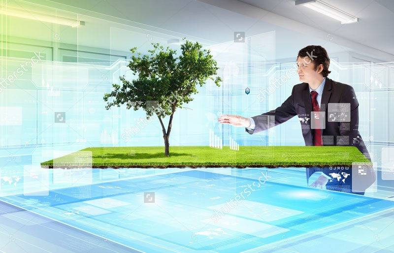 stock-photo-image-of-young-businessman-touching-icon-of-high-tech-picture-of-environment-concept-137179607