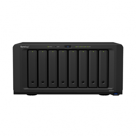 Synology DiskStation DS1817+ front