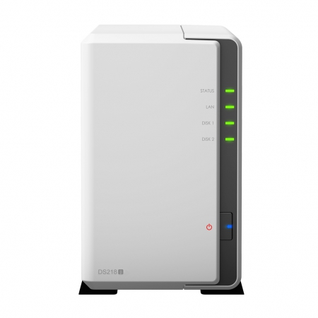 Synology DiskStation DS218j Front