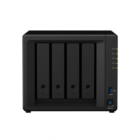 synology diskstation ds418 front