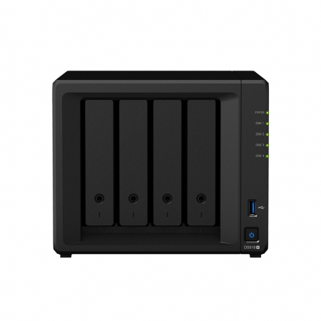 Synology DiskStation DS918+ Front